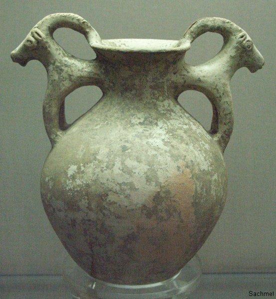 Teheran - Reza Abbasi-Museum - Steinkrug (Achämenidenzeit)
