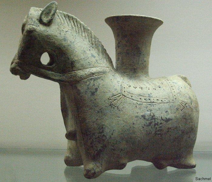 Teheran - Reza Abbasi-Museum - Rhyton (Marlik-Kultur)