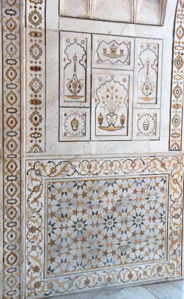 Agra - Mausoleum des Itimad ad-Daulah - Detail