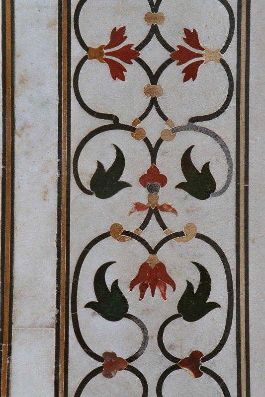 Agra - Taj Maha - Detail