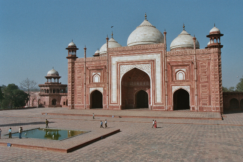 Agra - Taj Mahal - Gästehaus