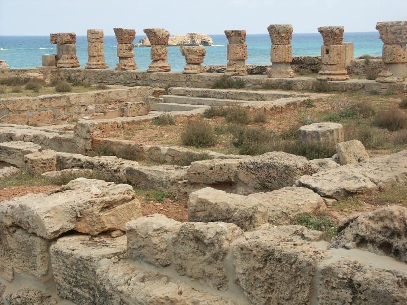 Apollonia_Die Römischen Bäder