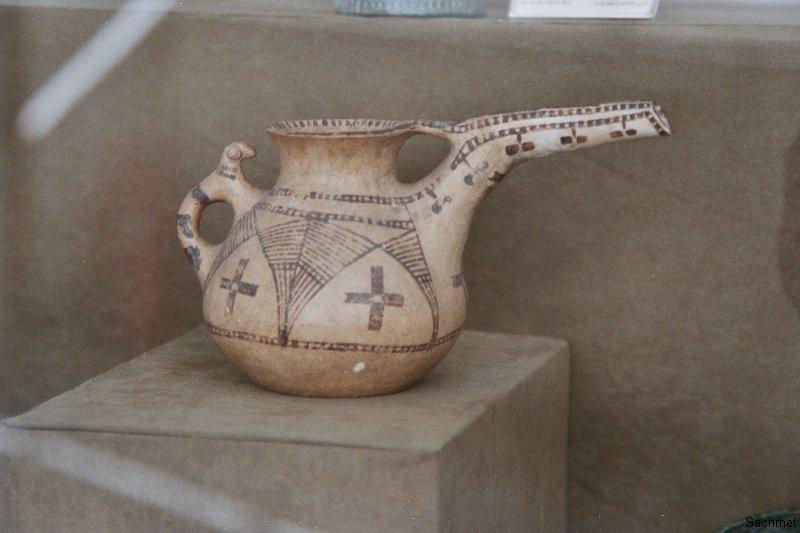 Archäologisches Museum Teheran - Schnabelgefäss, Luristan 8.-7. Jh. v. Ch.