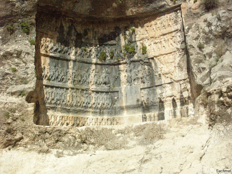 Bishapur - Tang-e Chowgan-Schlucht - Shapur I.