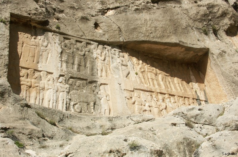 Bishapur - Tang-e Chowgan-Schlucht - Shapur II.