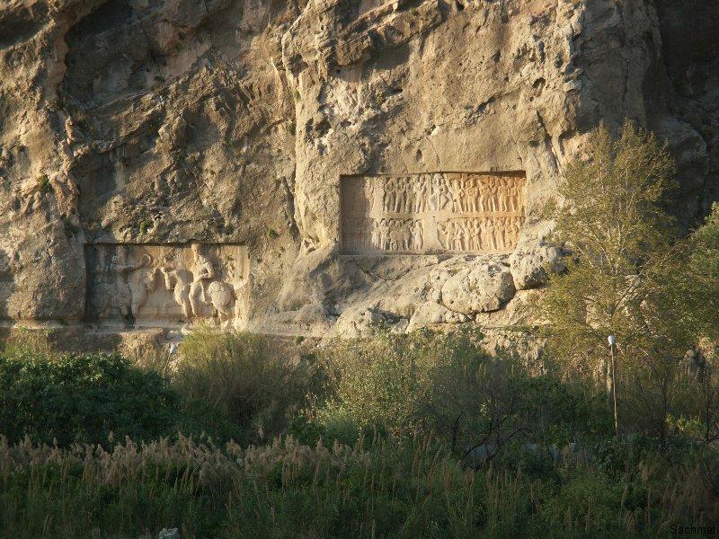 Bishapur - Tang-e Chowgan-Schlucht - Bahram I.