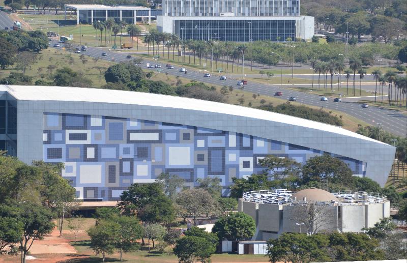 Brasilia_Blick vom Torre de TV_Convention Center