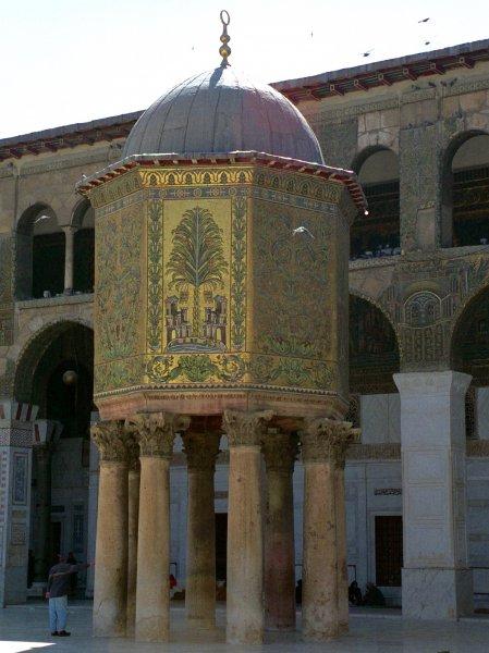 Damaskus_Umayyaden-Moschee_Schatzhaus