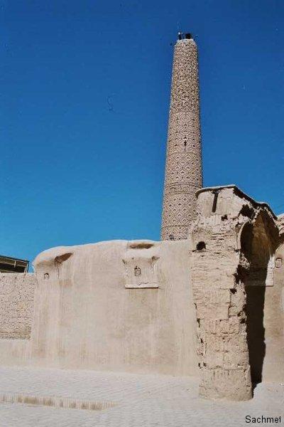 Damghan - Ziegelminarett