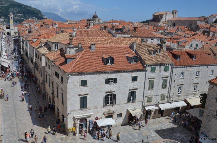 Dubrovnik - Auf der Stadtmauer