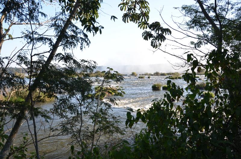 Brasilien_Die Wasserfälle von Foz do Iguaçu