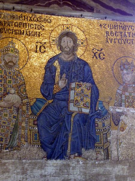 Hagia Sophia - Kaiserin Zoe und Konstantin IX.