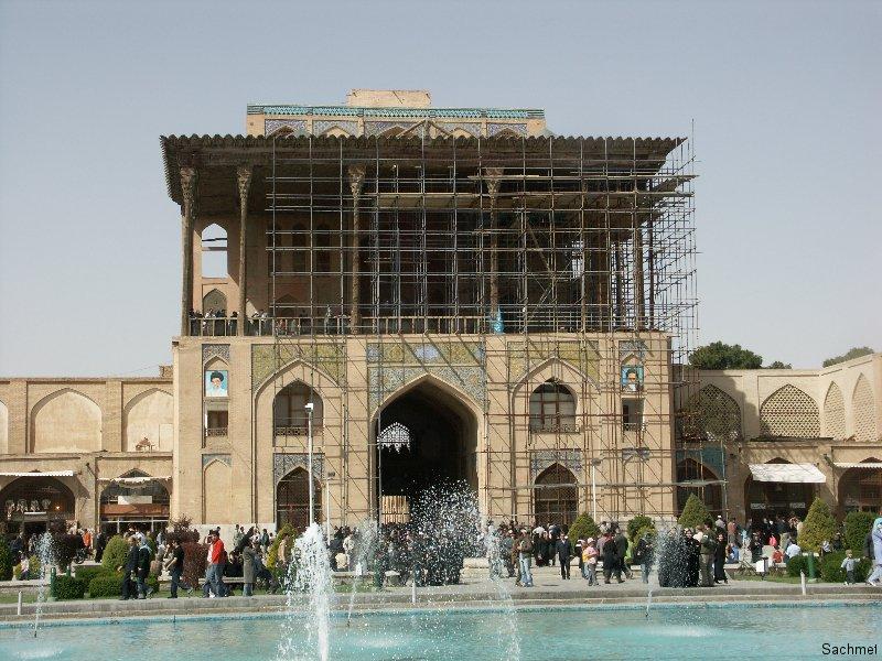 Isfahan - Der Ali Qapu-Torpalast