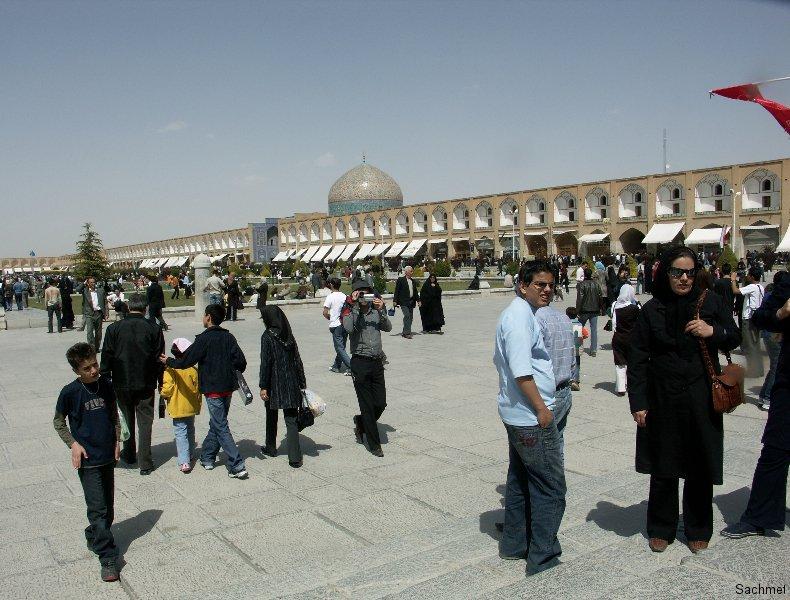 Isfahan: Imam-Platz - Shaikh Lotfollah-Moschee