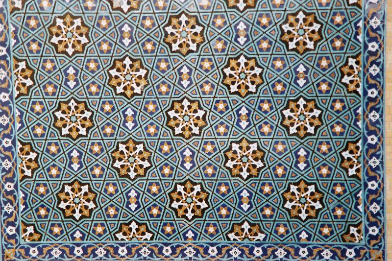 Kerman - Freitagsmoschee - Fliesenmosaik