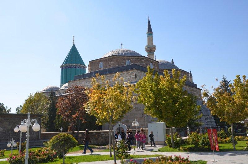 DSC_4514_Kappadokien_Konya_Mausoleum Maulana Dschalal ad-Din ar-Rumi