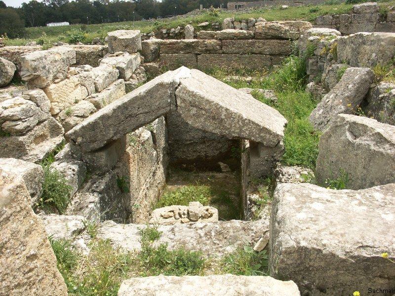 Kyrene_Kenotaph des Dynastiegründers Battos