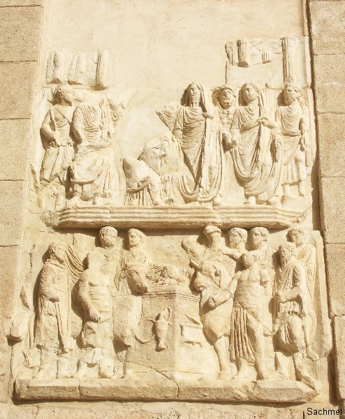 Leptis Magna_Triumphbogen des Kaisers Septimius Severus