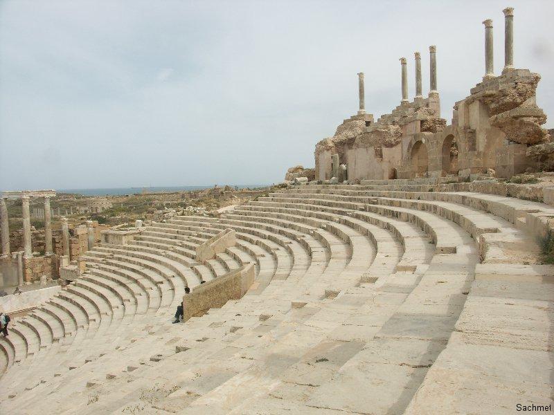 Leptis Magna_Theater