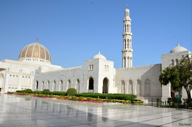 Muskat_Sultan Qaboos Grand Mosque