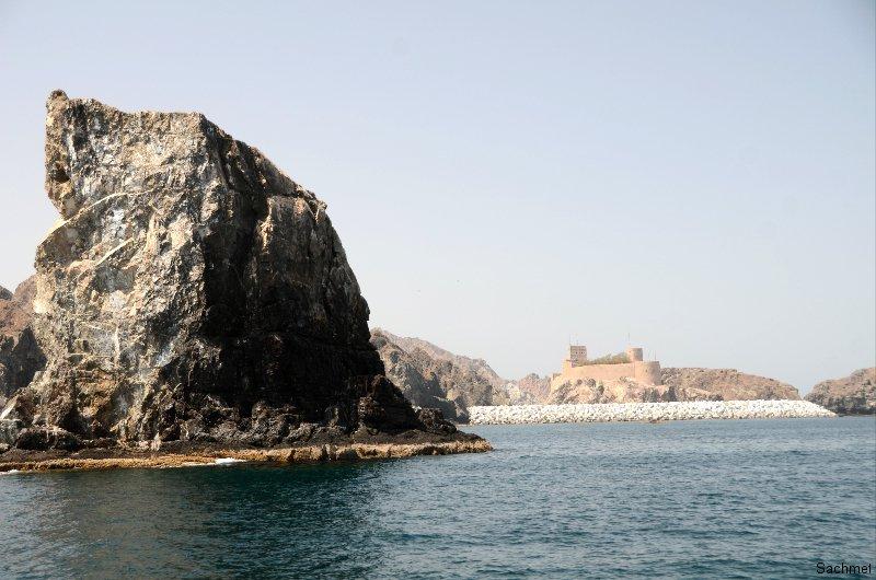 Maskat_Die Küste vor Maskat