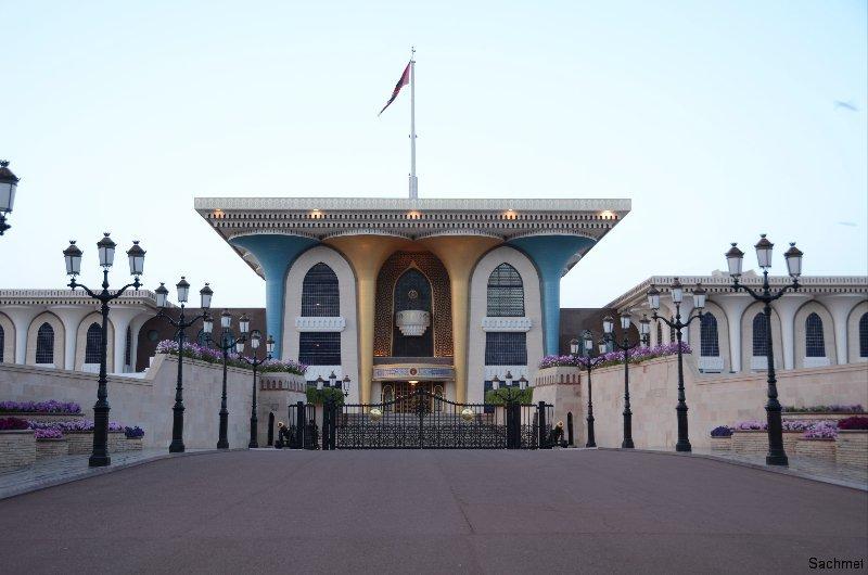 Maskat_Sultanspalast
