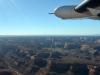 Auf dem Flug vom Grand Canyon zum Monument Valley