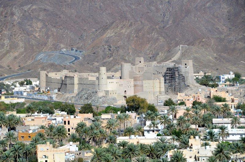 Die Festung Hisn Tamah