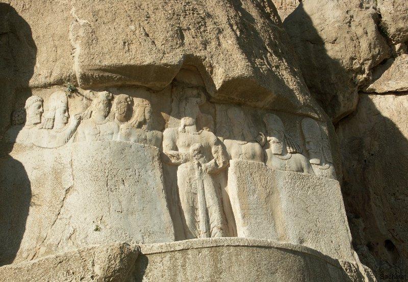Naqsh-e Rostam - Bahram II.