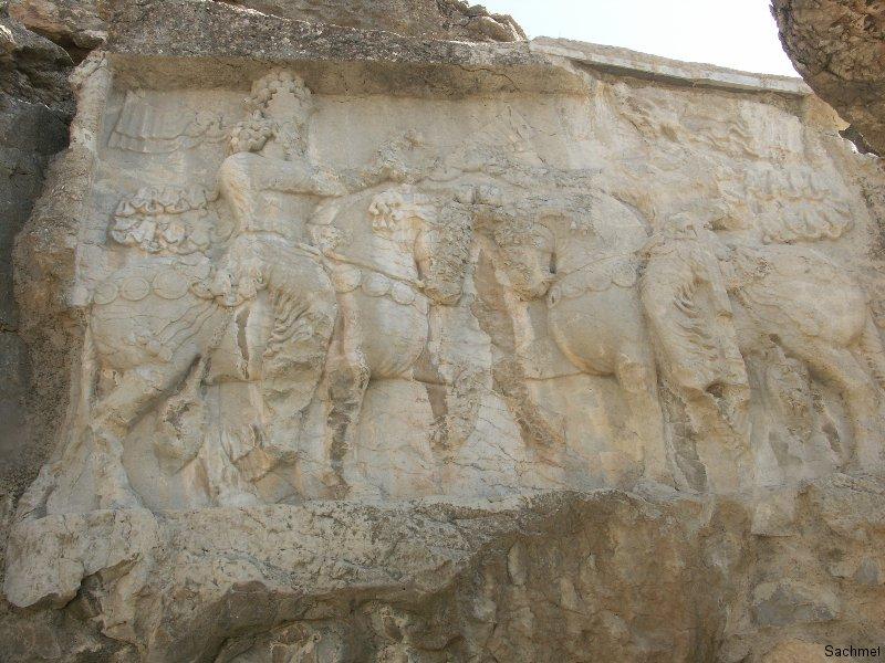 Naqsh-e Radjab - Shapur I. (Detail)