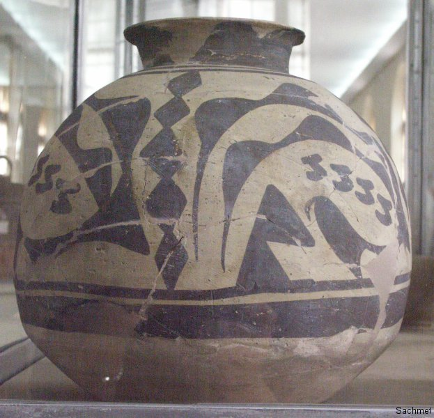 Teheran - Nationalmuseum -  Keramik (Susas)