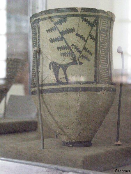 Teheran - Nationalmuseum -  Vorratsgefäss (Tepe Sialk)