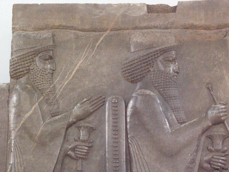 Teheran - Nationalmuseum - Relief (Persepolis)
