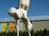 Palm Springs - Denkmal Marilyn Monroe