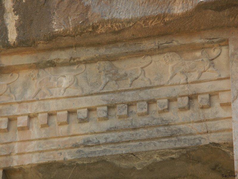 Persepolis - Grab des Artaxerxes III. (Detail)