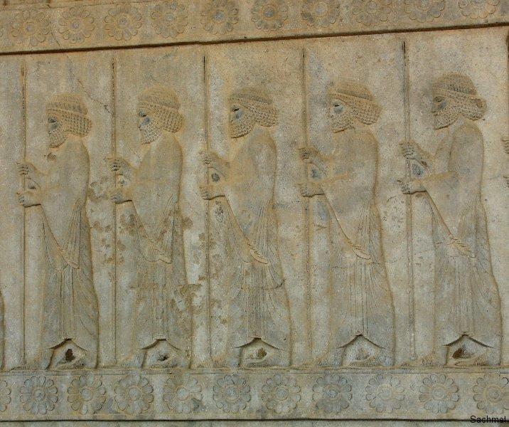 Persepolis - Apadana - Die Unsterbliche Garde