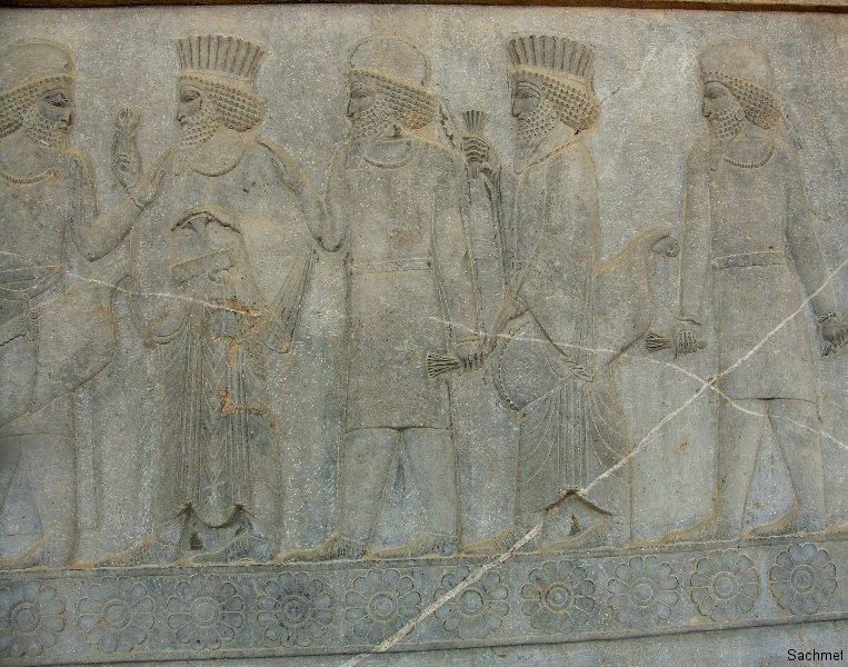 Persepolis - Apadana - Perser und Meder