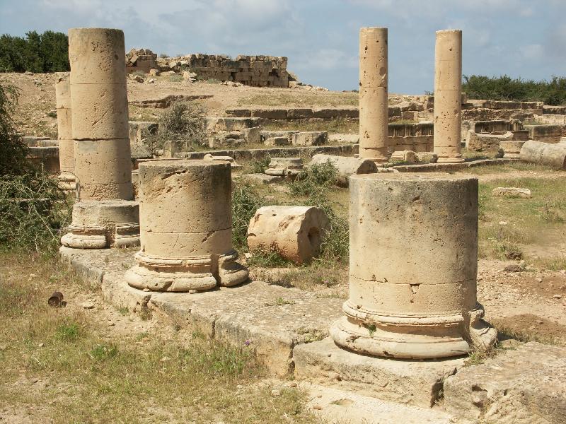 Ptolemais_Reste einer byzantinischen Stadtvilla