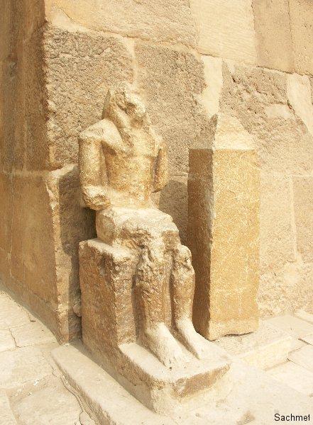 Gizeh_Pyramidengebiet_Das Grab des Seschem-nefer