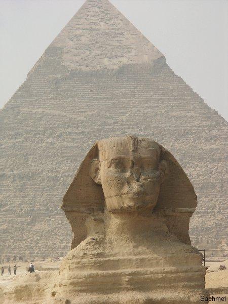 Gizeh_Pyramidengebiet_Der Grosse Sphinx
