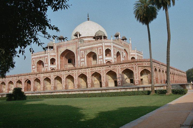 Delhi - Mausoleum das Humayun