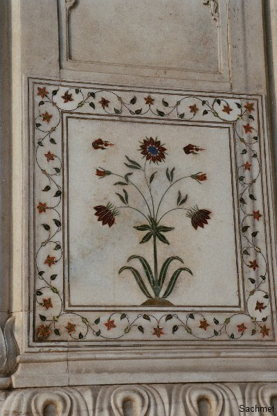 Delhi -  Das Rote Fort (Detail)