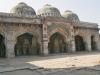 Delhi - Moschee neben dem Mausoleum Bara Gumbad