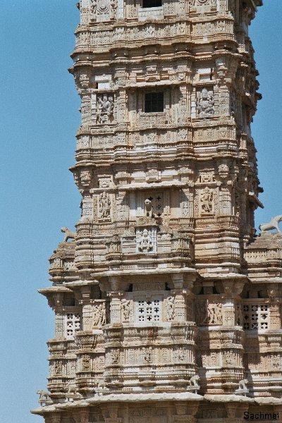 Chittaurgarh - Siegesturm des Rana Kumbha
