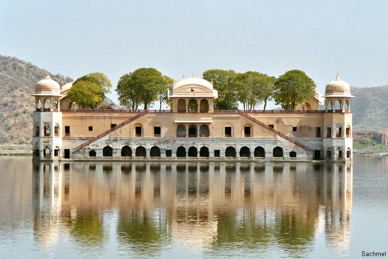 Jaipur - Wasserpalast Jal Mahal