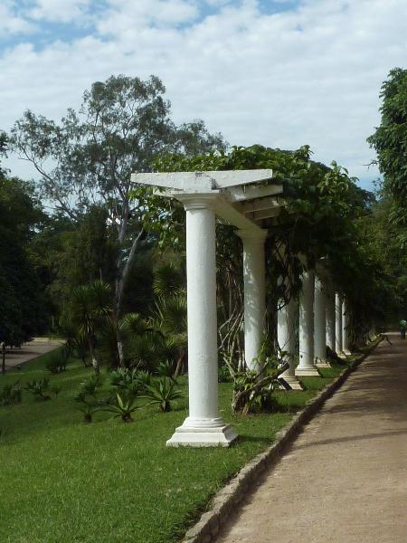 Rio de Janeiro: Im Botanischen Garten