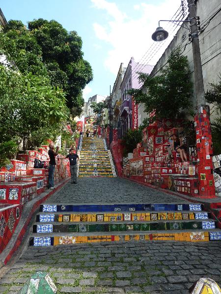 Rio de Janeiro_Escadaria Selaron