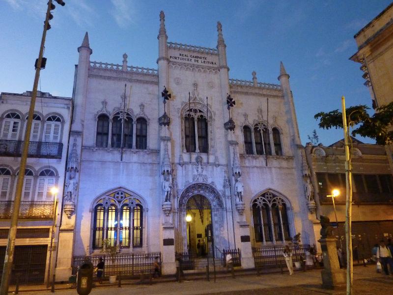Rio de Janeiro_Real Gabinete Português Leitura