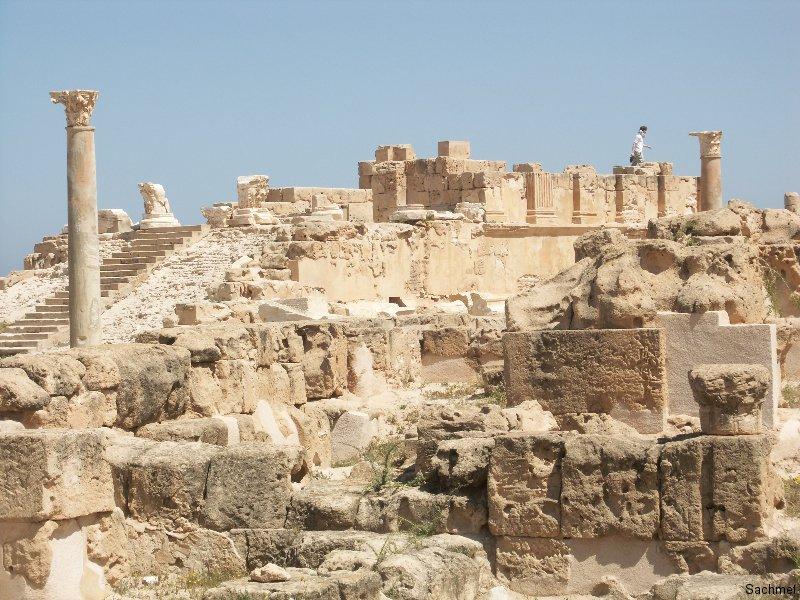 Sabrata_Antonius Pius-Tempel