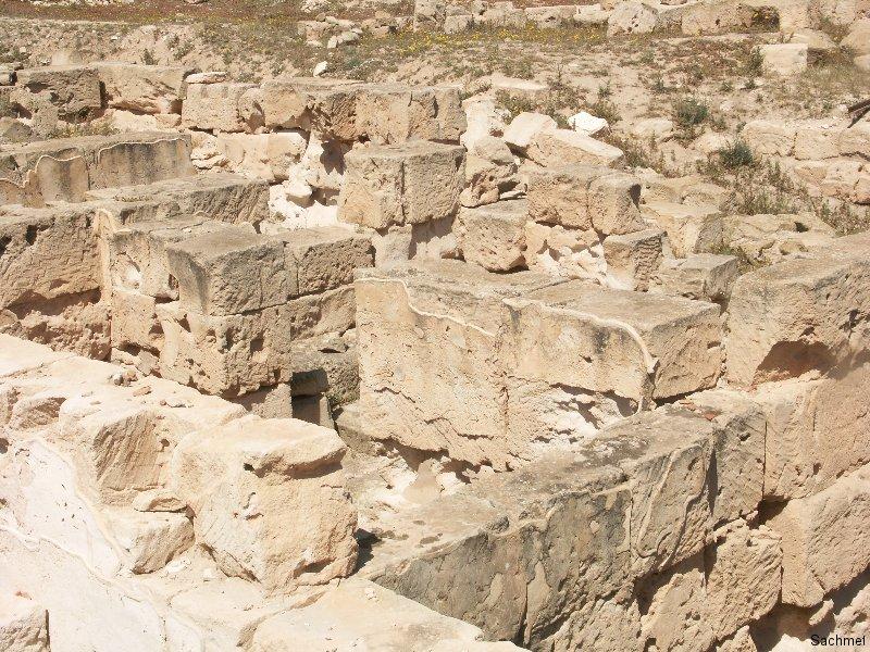 Sabrata_Das archäologische Gelände